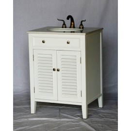 Vanity 1128-26W White