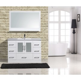 "Alva 48"" White, gray, or espresso"