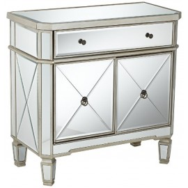 "Amelia 32"" Mirrored Cabinet"