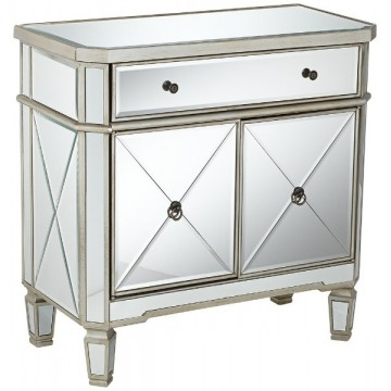 "Amelia 32"" Mirrored Cabinet"