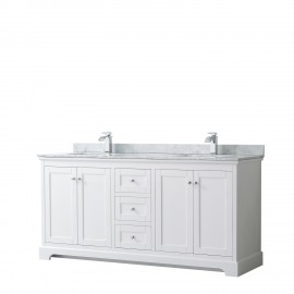 "Avery 72"" White (Vanity Only Pricing)"