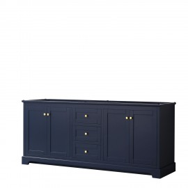 "Avery 80"" Dark Blue (Vanity Only Pricing)"