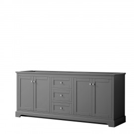 "Avery 80"" Dark Grey (Vanity Only Pricing)"