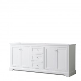 "Avery 80"" White (Vanity Only Pricing)"