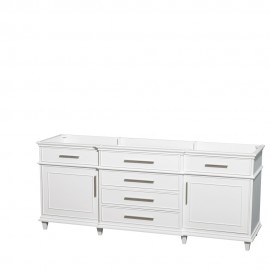 "Berkeley 80"" White (Vanity Only Pricing)"
