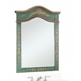Crossfield Dark Green Mirror