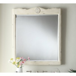 Daleville Distressed Cream Mirror