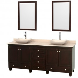 "Acclaim Espresso 80"" Vessel (vanity only pricing)"