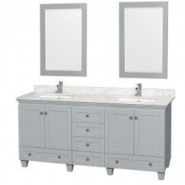 "Acclaim Grey 72"" Double"