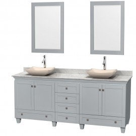 "Acclaim Grey 80"" Double Vessel"