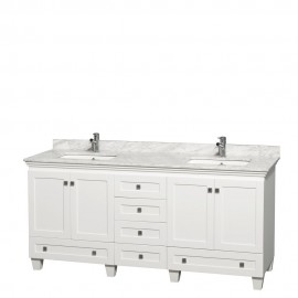 "Acclaim White 72"" Double"