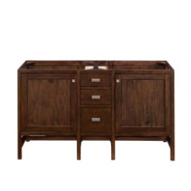"Addison Mid Century Acacia 60"" Double (Vanity Only Pricing)"