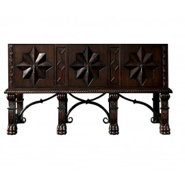 "Balmoral 60"" Antique Walnut (Vanity Only Pricing)"