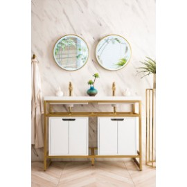 Boston Radiant Gold w/Cabinet 47""