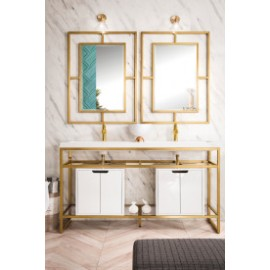 Boston Radiant Gold w/Cabinet 63""