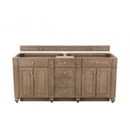 "Bristol 72"" Whitewashed Walnut (Vanity Only Pricing)"
