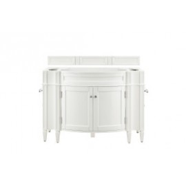 "Brittany 46.5"" Bright White (Vanity Only Pricing)"