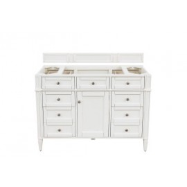 "Brittany 48"" Bright White (Vanity Only Pricing)"