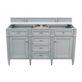"Brittany 60"" Urban Grey Double (Vanity Only Pricing)"