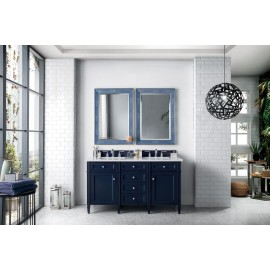 "Brittany 60"" Victory Blue Double (Vanity Only Pricing)"