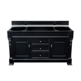 "Brookfield Antique Black 60"" Double (Vanity Only Pricing)"