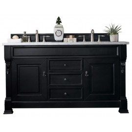 "Brookfield Antique Black 60"" Double"