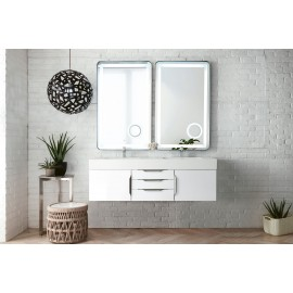"Mercer Island Glossy White 59"" (Vanity Only Pricing)"