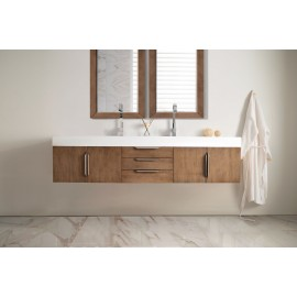 "Mercer Island Latte Oak 72"" Double (Vanity Only Pricing)"