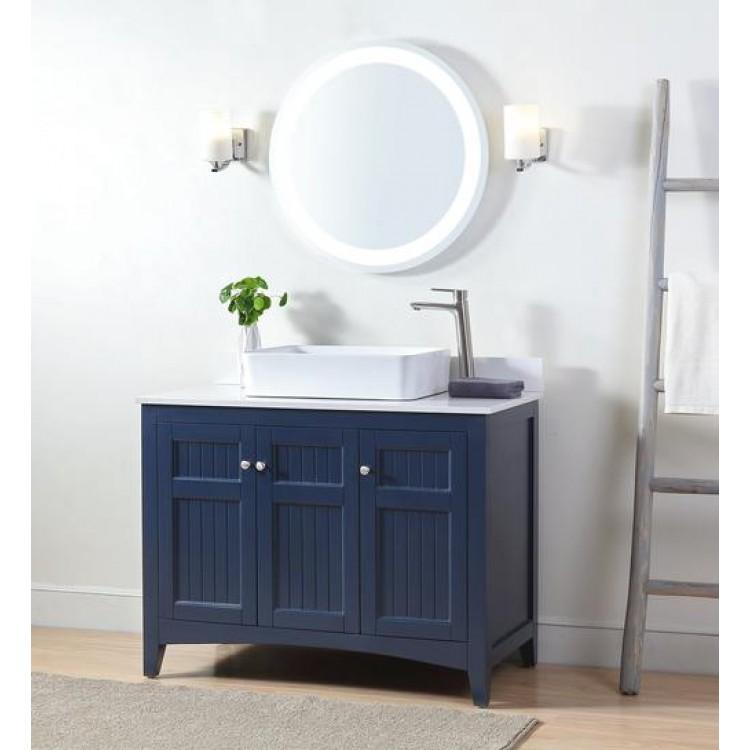 Thomasville 42 Navy, Thomasville Bathroom Vanity