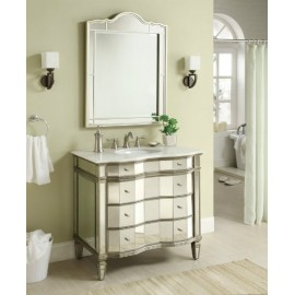 "Ashley 36"" Vanity with Mirror"